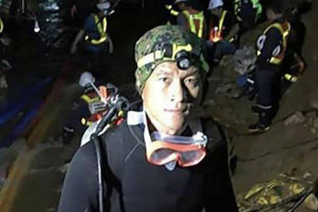 The World Is Mourning Saman Gunan, The Man Who Gave His Life To Save The Soccer Team Trapped In A Thai Cave
