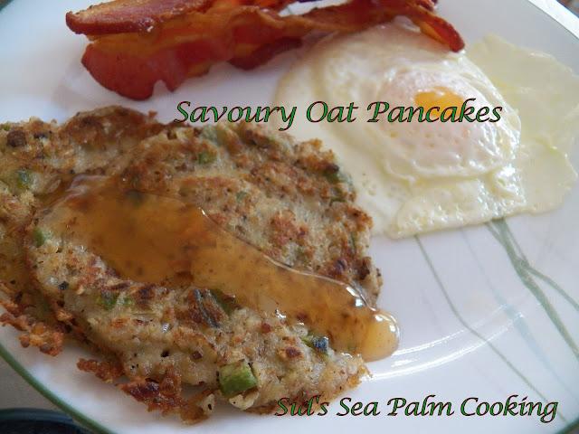Savoury Oat Pancakes
