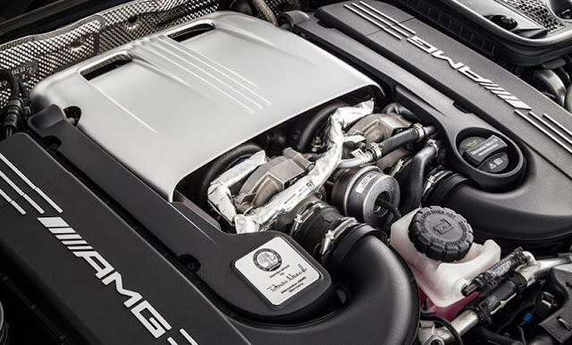 2017 Mercedes-Benz SL Class Engine