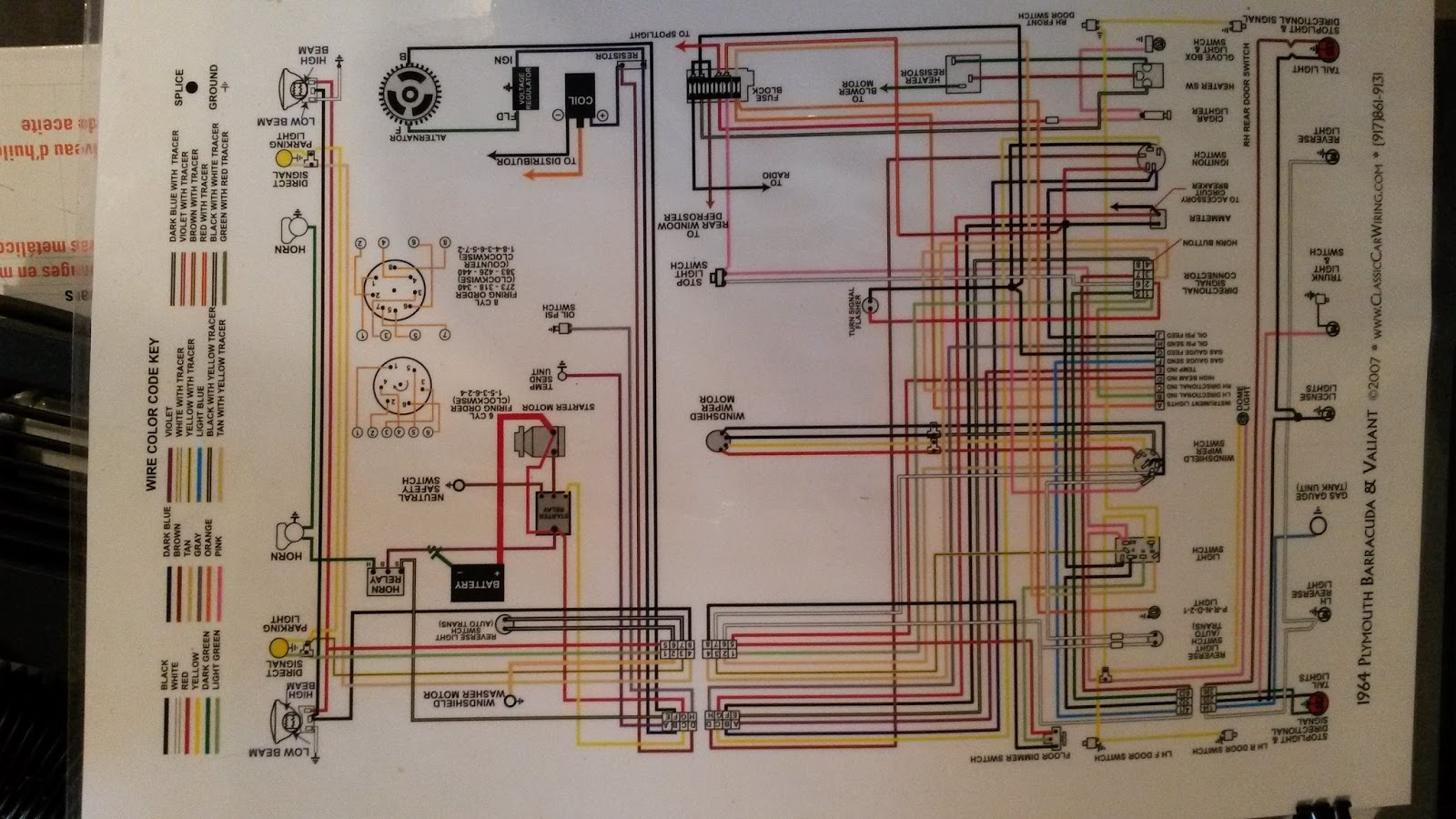 1966 Barracuda Dash Wiring Diagram Schematic Diagrams Plymouth Trusted
