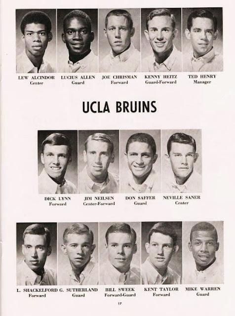 1966 67 UCLA Bruins Thanks BB