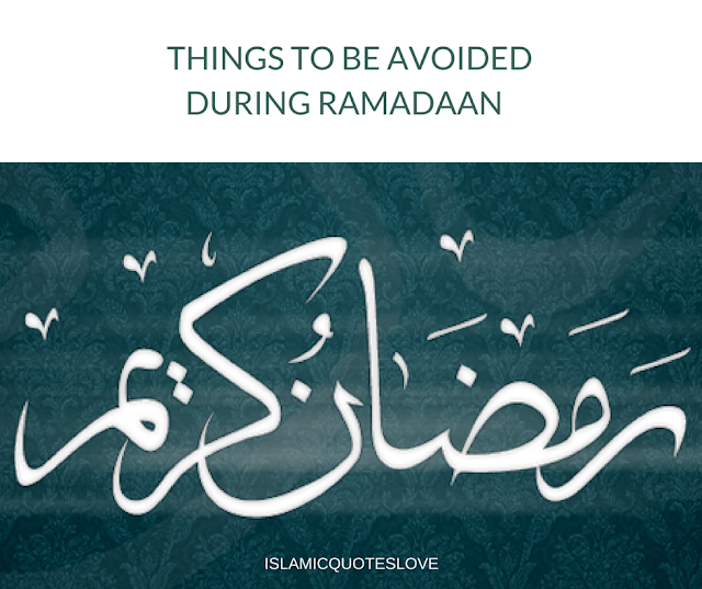 1. Don't sleep during the day and pray all night. By doing this you are converting the day into night and the night into day, which is not the purpose of fasting.  2. Avoid being lazy and inactive during the day.  3. Don't waste time playing games during the day. Rather, please Allah by increasing in your worship of him.  4. Avoid having If-tar parties. Ramadan wasn't meant to be a food extravaganza.  5. Don't ask your wife to spend Ramadan in the Kitchen. Eat something light and quick.  6. Spend the last 10 days worshiping Allah rather than trying to prepare for Eid! A day that is better than a thousand months is in these last 10 days. You can't afford to miss this.  7. Don't stay awake the full night. Your body has a right over you, and when it wants rest, then rest.  8. Avoid excessive socializing after Taraweeh  9. Avoid shopping a lot in Ramadan.  10. Don't eat the full night.  11. Don't loiter around at night rather than worshiping Allah.  12. Eid doesn't require loads of preparation. Don't fall into this trap! Keep it simple, and it will be blessed.  May we witness this forthcoming Ramadan with sound health  Aameen....  Common mistakes in Ramadan:  1. Drinking Milkshakes made with syrups etc on a daily basis  - Why: It contains high amounts of sugar, additives  and colorants - Solution: If you have to, drink it twice a week maximum   2. Drinking large amounts of water at iftaar time  - Why: Filling the stomach with water is more strenuous to it than with food.  - Solution: have a few sips at iftaar then a glass after every two hours.   3. Exercising directly after iftaar.  - Why: the body's blood flow is concentrated around the stomach at that time. - Solution: Exercise after two hours of eating to ease digestion.   4. Chewing and swallowing food fast.  - Why: chewing food slowly can speed up digestion and help maintain your weight   5. Having dessert directly after iftaar  - Why: they make you drowsy and sleepy  - Solution: leave at least a two hour gap betw