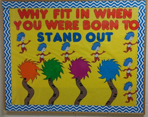 24-hour Teaching School Bulletin Boards-gallore