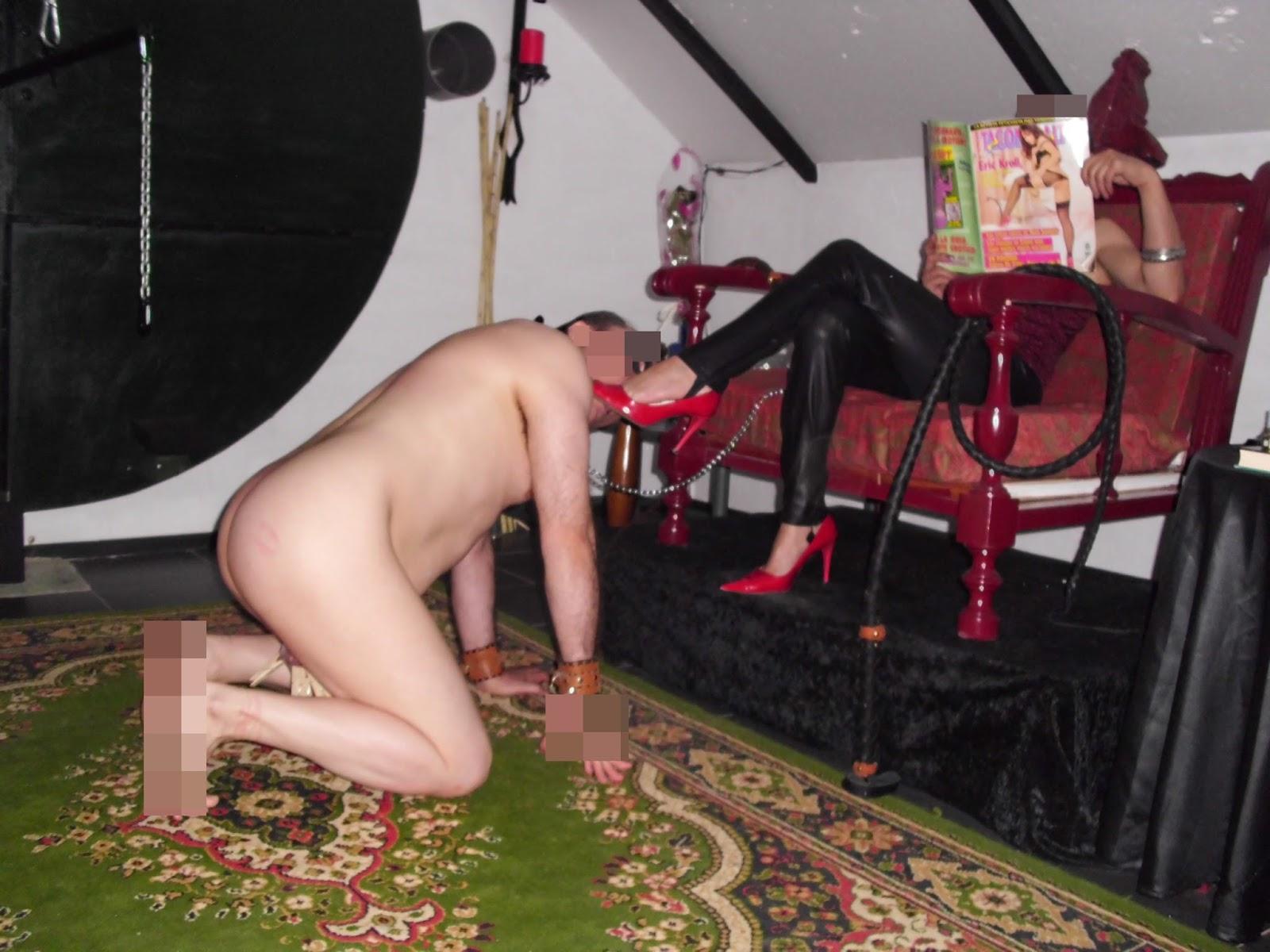 Enculando a un esclavo en el suelo - 3 part 4