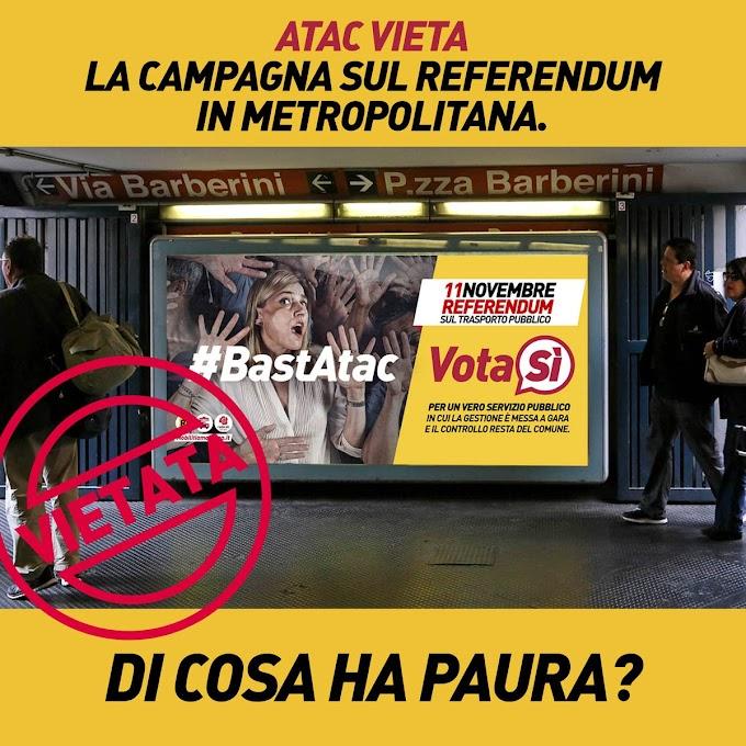 Atac vieta la campagna referendaria