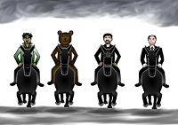 The Four Horsemen of the Infocalypse: Terror, Paedophilia, Drugs, and Organised Crime