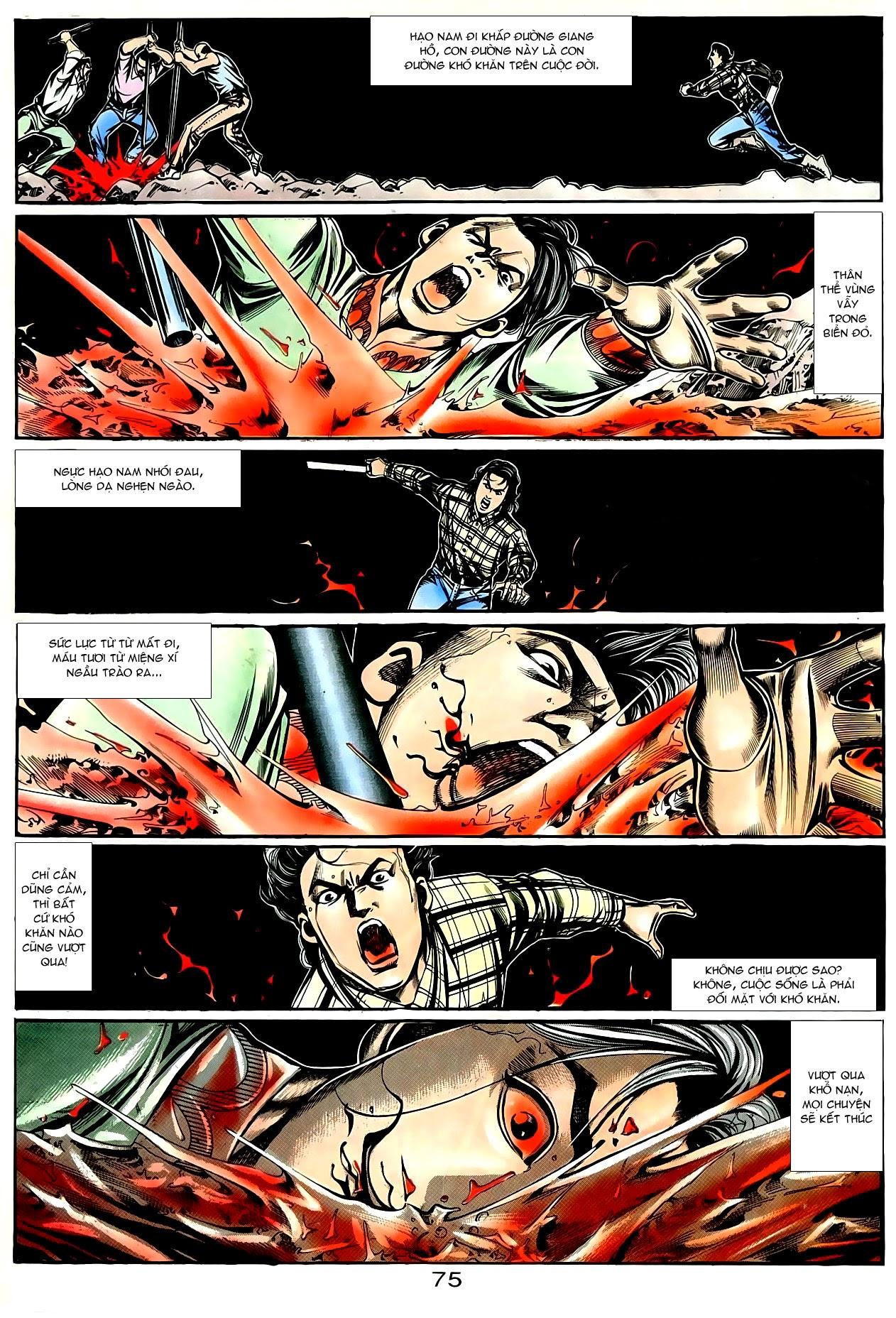 Người Trong Giang Hồ chapter 90: giang hồ hiểm trang 11