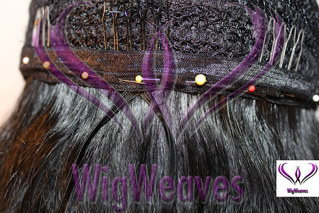 Custom Closure Wigs with hidden drawstring