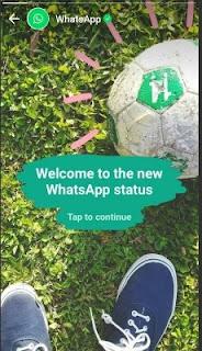 Cara Menggunakan Whatsapp Status Story