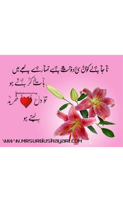 Letest urdu shayari with beautiful images in 2019