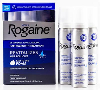 Obat Penumbuh Rambut Rogaine, Minoxidil - Obat Penyubur dan Penumbuh Rambut