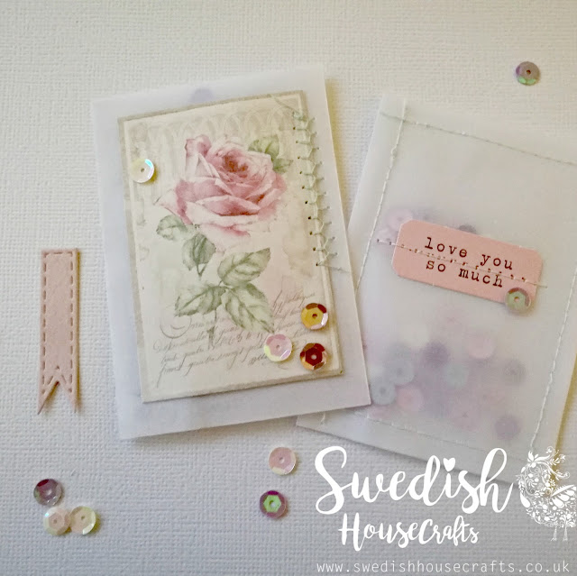 Romantic Vellum Pockets | By Clair