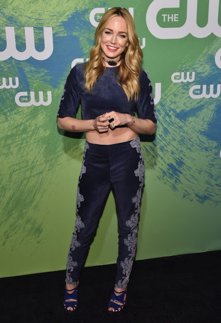 Actress, Singer, Model, @ Caity Lotz at 2016 CW Network Upfront in New York