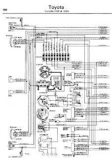 toyota crown 1100 1200 1962-70 wiring diagram | online ... wiring diagram ford 600 series wiring diagram toyota 70 series