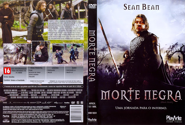 Capa DVD Morte Negra