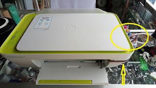Pasang Infus Modifikasi HP Deskjet 2135 2545