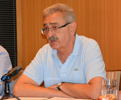Image result for Γιάννης Χασιώτης Πρόεδρος της ΝΟΕ Ημαθίας
