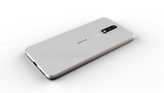 Nokia 5.1 plus rear