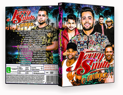 CAPA DVD – Jerry Smith E Amigos – ISO