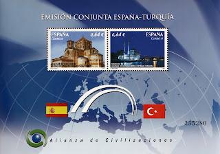 EMISIÓN CONJUNTA 2010 ESPAÑA-TURQUÍA