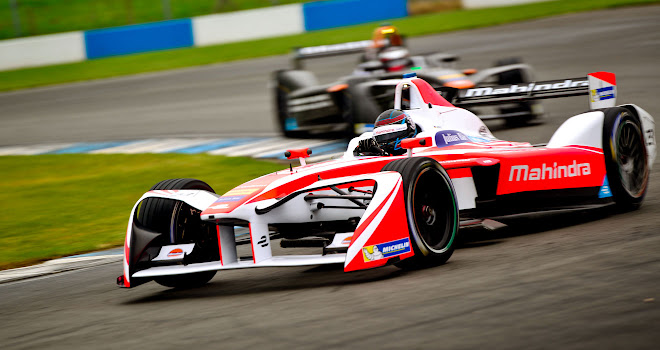 Mahindra Racing testing at Donington in September