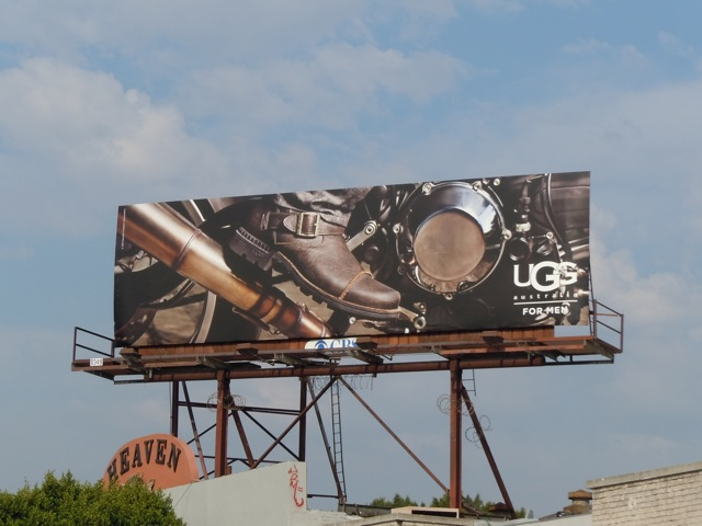 Ugg Men billboard