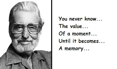 """Dr. Seuss Quotes About the Value of a Moment"""
