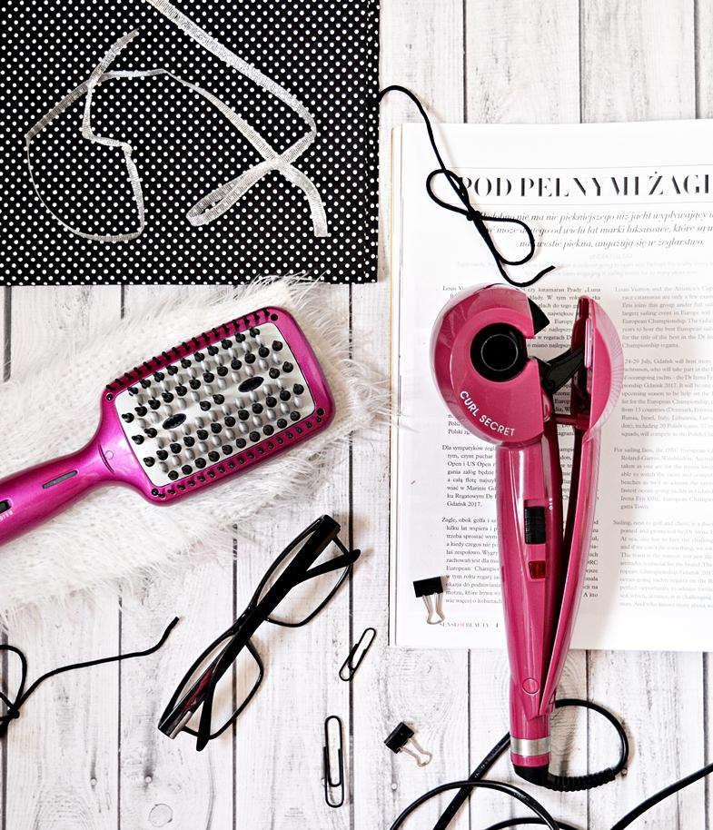 BABYLISS - Liss BRUSH 3D - szczotka prostująca włosy i CURL SECRET magiczna lokówka, która zrobi to za Ciebie.
