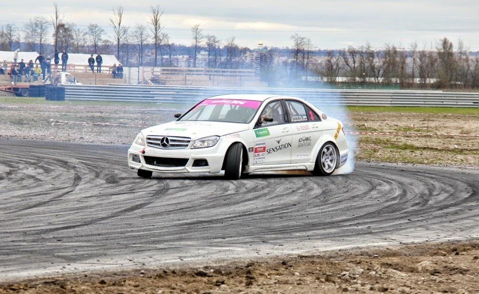 Mercedes W204 Drift With 2jz Engine Benztuning