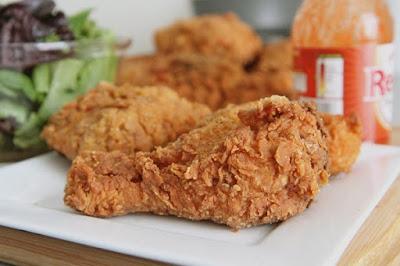 Resep Ayam Goreng Tepung Spicy Oatmeal Ala KFC yang Lezat