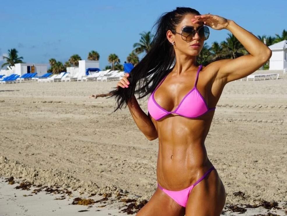 Anita Herbert, fitness trainer, home workout