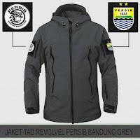 Jaket Motor Waterproof Tactical Revolver Persib Bandung