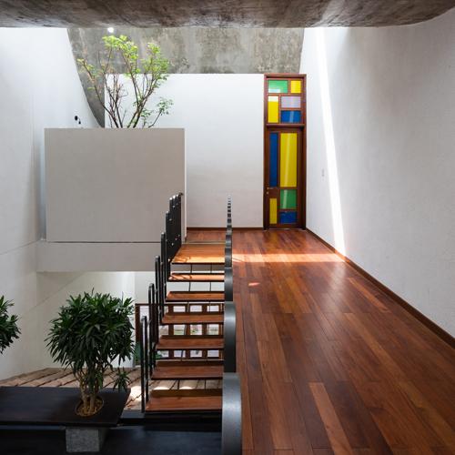 Ngôi nhà đa thế hệ thiết kế độc đáo nhất tại Bình Dương