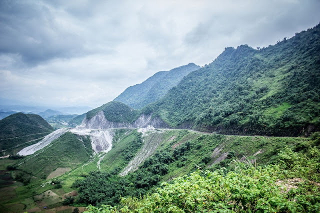 Mai Chau in Vietnam - Green valley of Thai people 2