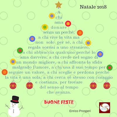 Enrico Prosperi augura BUon Natale