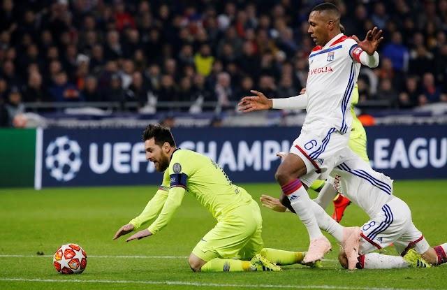 Cầm hòa trước Lyon không phải là kết quả quá tệ với Barca