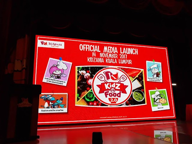 KidZania Kuala Lumpur's 'KidZ vs Food 2.0' : Cook Up a Storm For Your Parents This School Holiday