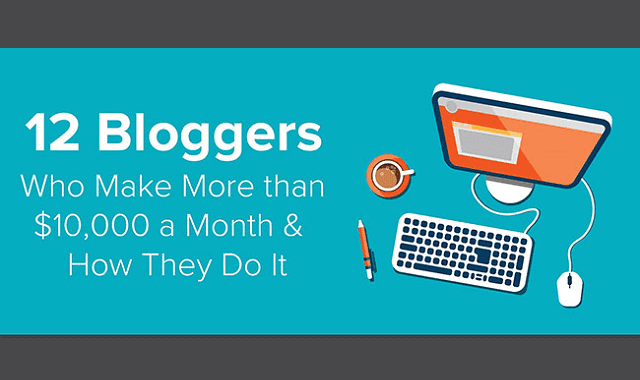 12 Bloggers Who Make More than $10,000 a Month and How They Do It