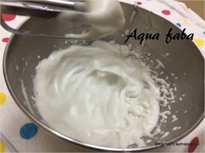AQUA FABA - CHICK PEA BRINE-  SUBSTITUTE FOR EGGS IN BAKING