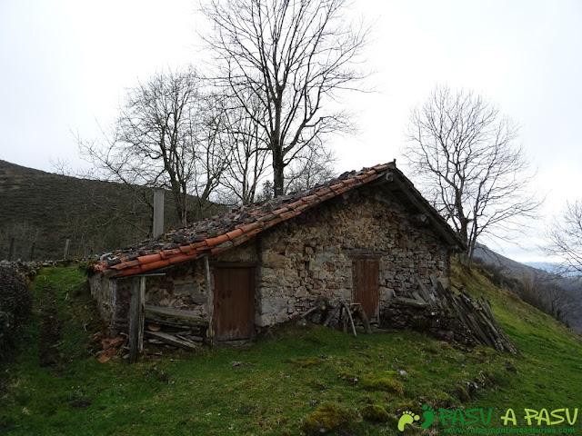 Cabaña en la Collada Abedul, Piloña