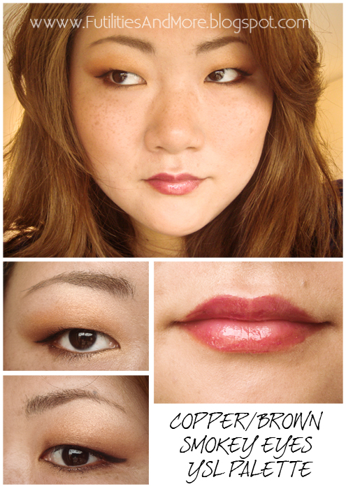 Copper Smokey Eyes Early Fall Makeup Look: Brown Smokey Eyes, Copper Smokey Eyes, Eyeshadow Palette