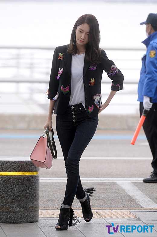 Snsd Yoona Departs For Beijing China Snsd Oh Gg F X