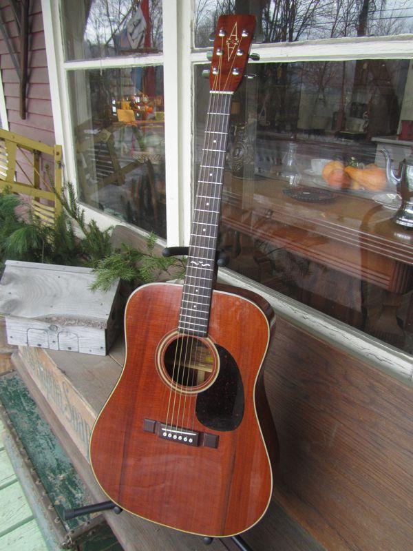 C 1982 Alvarez Model 5040 Dreadnought Guitar