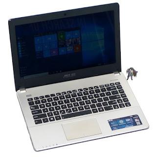 Laptop Gaming ASUS A450C Core i5 Dual VGA Bekas