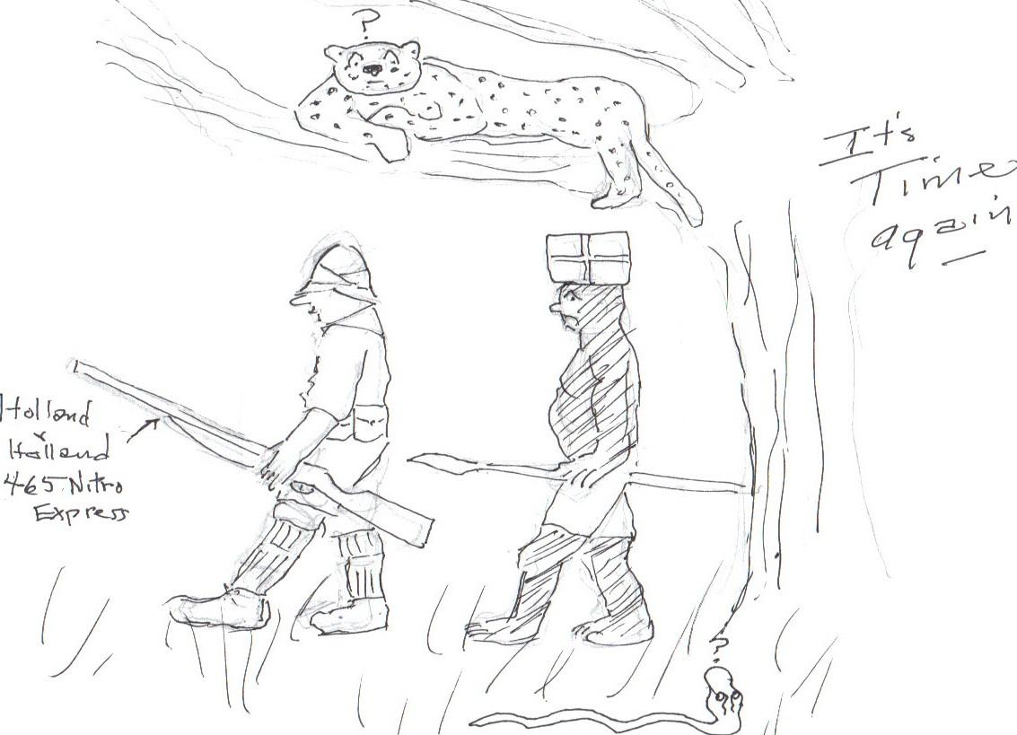 Odysseus Trunk Safari Cartoon