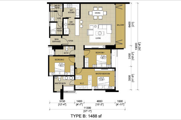 Malaysia Property New Project G Residence Or Gembira