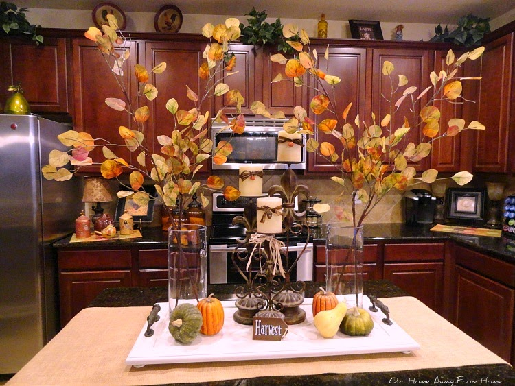 fall kitchen decor glass storage containers our home away from in