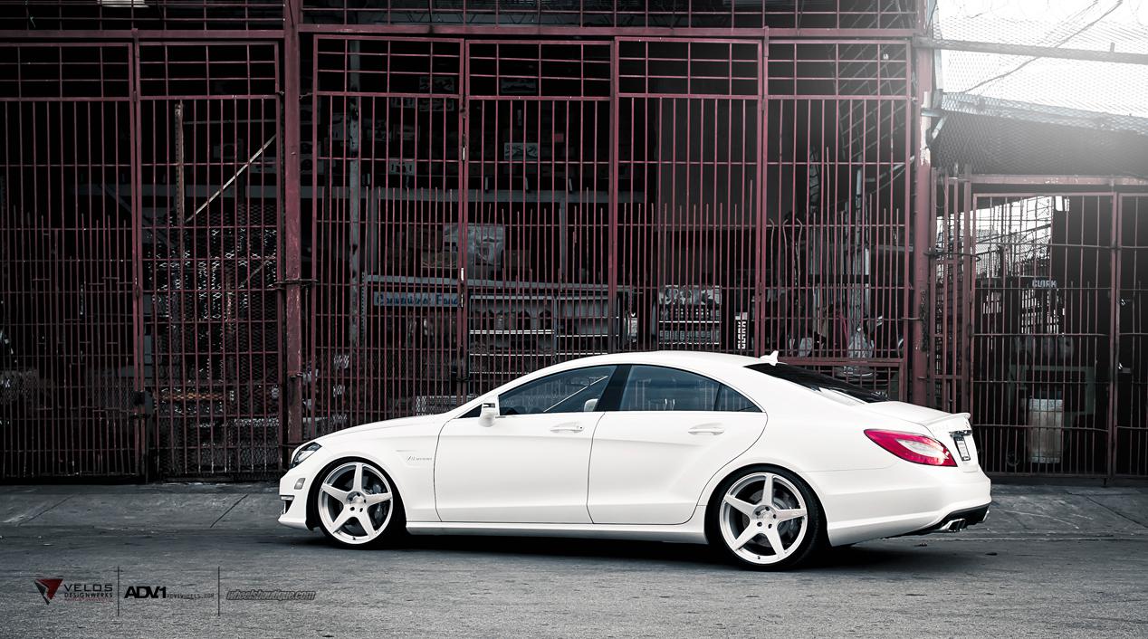 Mercedes Sls Amg Gt >> Mercedes CLS63 AMG W218 on ADV1 wheels | BENZTUNING