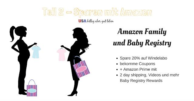 Amazon hilft Eltern sparen