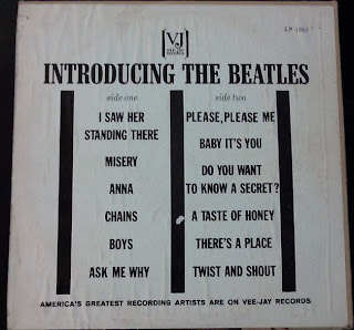 rare album introducing the beatles
